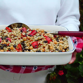Barley Picnic Salad, and 4th of July in Harbor Springs