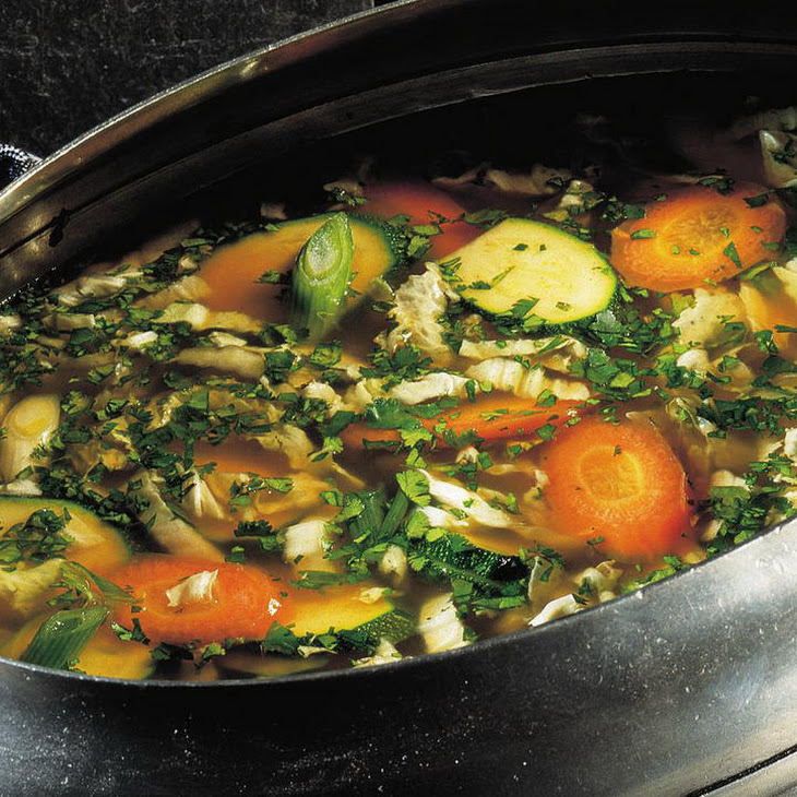 Curried Vegetable and Rice Soup