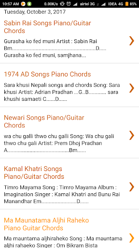 All Nepali Chords : Guitar/Piano APK download | APKPure.co