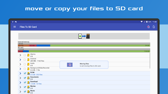 Files To SD Card