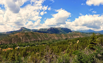Photo: View of Durango from a hike we did on Animas Mountain