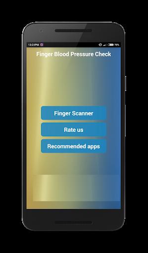 手指血压检查