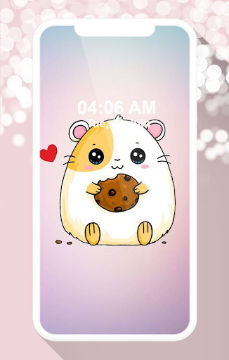 cute hamster wallpapers screenshot 1