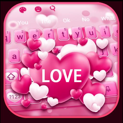 Pink Love Keyboard
