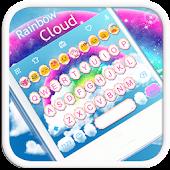 Rainbow Cloud Emoji Keyboard