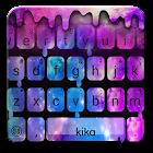 Nouveau thème de clavier Liquid Galaxy Droplets icon