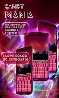 Screenshot of Candy Mania GO Keyboard