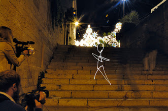 Photo: Alberobello IV - Light painting by Christopher Hibbert, french photographer and light painter. Further information: http://www.christopher-hibbert.com