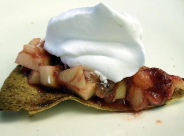 Cinnamon Tortilla Chips W/strawberry Salsa Recipe