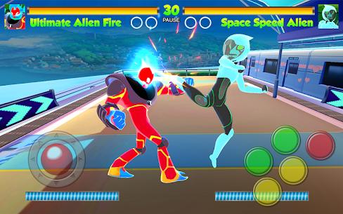Hero Alien Force Ultimate Arena Mega Transform War 4