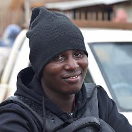 Everything in his eyes. by Marcel Cintalan - People Portraits of Men ( men, portrait, uganda, people, eyes, smile,  )