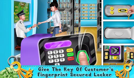 My Virtual Bank ATM  Machine & Cashier Kids Game Screenshot