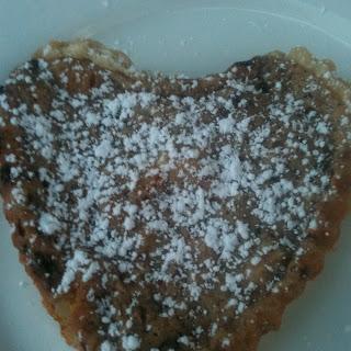 Chocolate Ricotta Heart Tart.