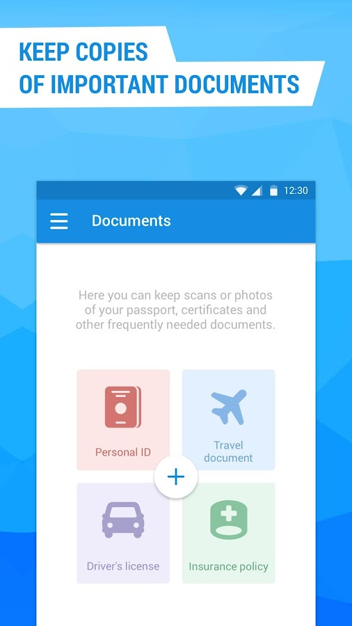 Cloud Mail.Ru- screenshot