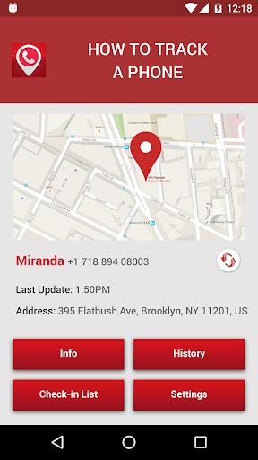 Cell Tracker App