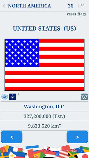 The Flags of the World u2013 Nations Geo Flags Quiz 4.9 screenshots 2