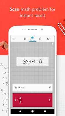 Photomath - Camera Calculator - screenshot