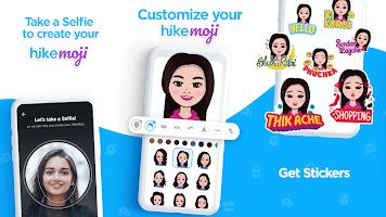 screenshot of Hike Sticker Chat - Fun & Expressive Messaging