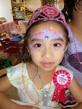 Photo: Princess face painting by Heidi from La Verne.Book Heidi by calling 888-750-7024