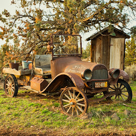 The Good Ole Days by Earl Heister - Transportation Automobiles (  )