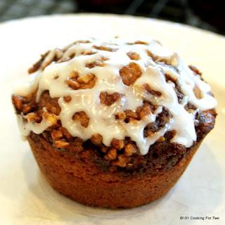 Cinnamon Nut Muffins.
