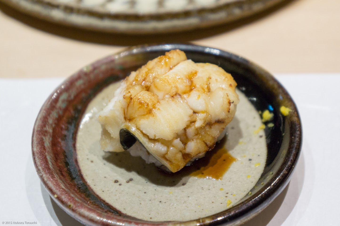 穴子(九州産)甘辛醤油ダレ 削り柚子かけ