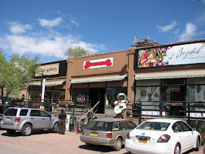 Photo: The mining town of Madrid has become a tourist stop on the Turquoise Trail between Santa Fe and ABQ.
