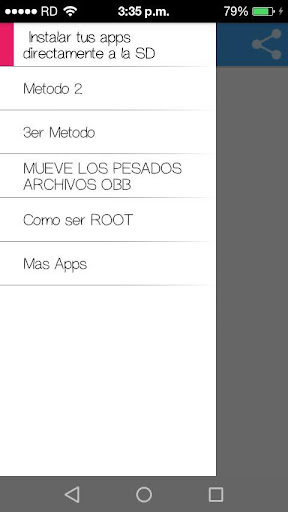 Como Descargar Apps a la SD