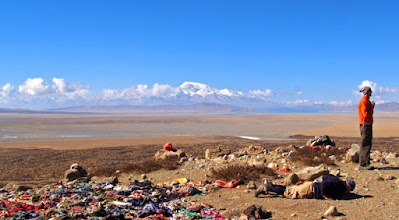 Photo: First prostration point, Mount Kailash