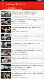 Home Exercise - Best Workout - náhled