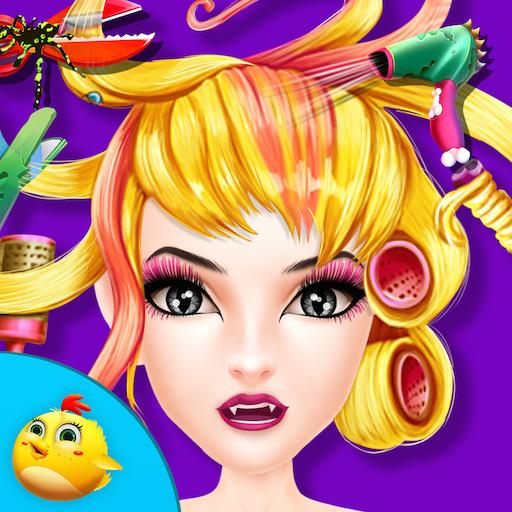 ハロウィンガールヘアーサロン 休閒 App LOGO-APP試玩