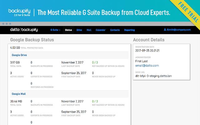 Backupify Google Apps Backup - G Suite Marketplace
