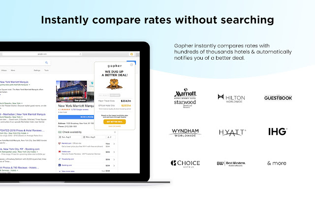 Gopher: Automatic Better Hotel Deals