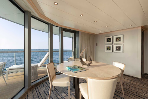 Grand-Suite-dining-area-Silver-Origin.jpg - The dining area of the Grand Suite aboard Silver Origin.