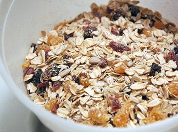 Homemade Swiss Muesli Cereal Recipe