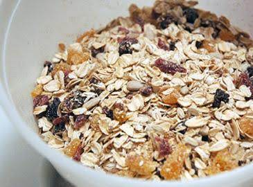 Homemade Swiss Muesli Cereal