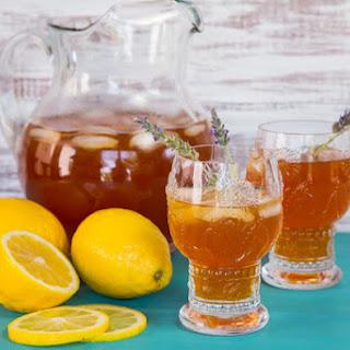 Lemon Lavender Iced Tea.