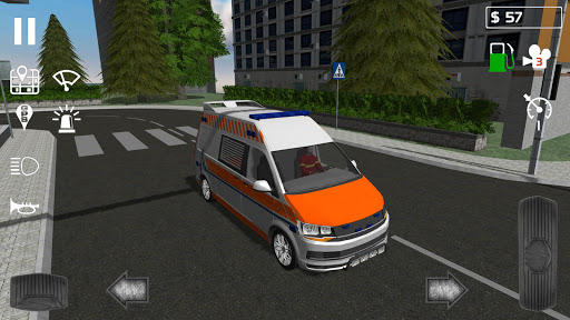 Emergency Ambulance Simulator  captures d'u00e9cran 1