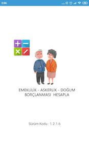 Emeklilik Hesaplama SSK Bağkur Engelli Yaş Haddi - náhled