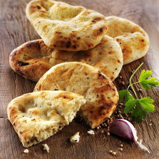 Homemade Pita Bread.