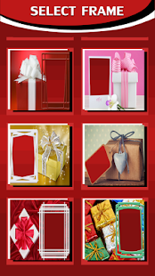 Gift Box Frames For Photos - náhled