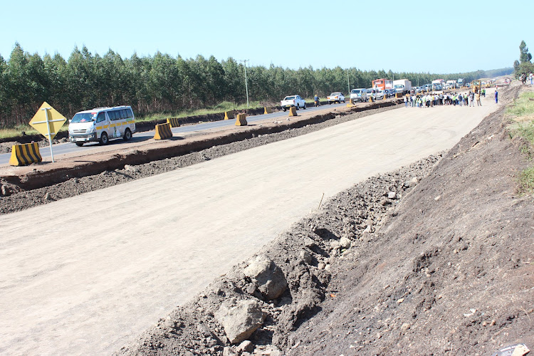 Kenol-Marua dual carriageway project