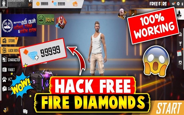 Free Fire Diamond Generator Free Fire Hacking