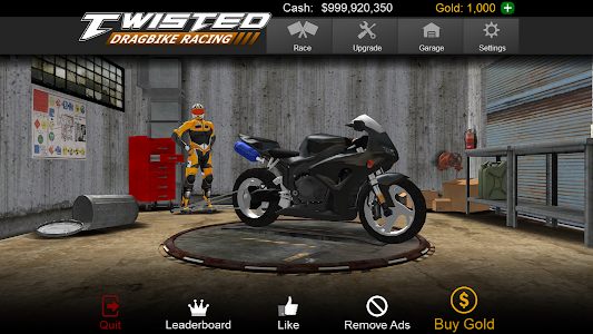 Twisted: Dragbike Racing v1.2 (Mod Money)