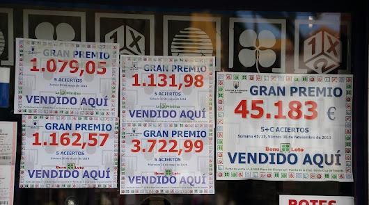 La Bonoloto deja en Almería tres millones de euros