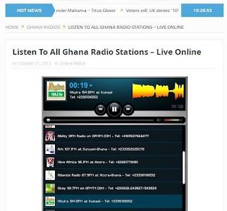 GhanaSky GTV, Adom TV screenshot 23
