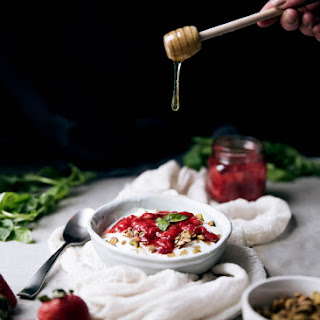 Strawberry Basil Compote