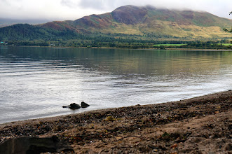 Photo: the bonnie banks of Loch Lomand
