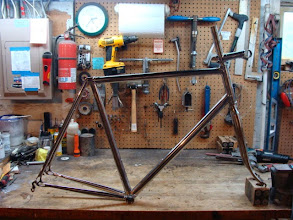 Photo: The Strada Inox, polished and ready for paint.
