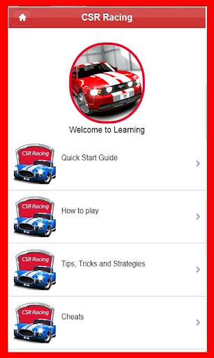 Guide for CSR Racing